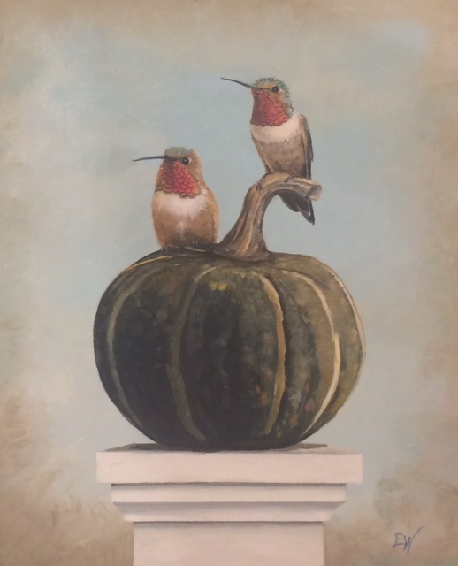 A Gourd for Two, 10x8