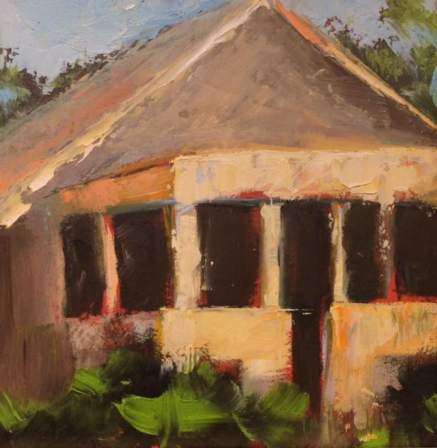 The Grey House, 6x6