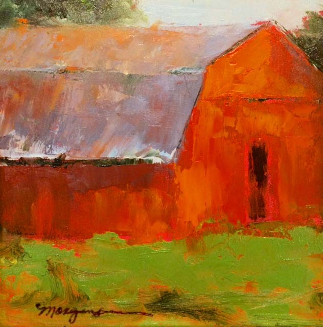Summer Barn, 6x6