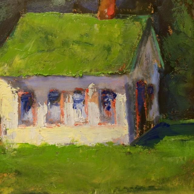 Summer Greens II, 6x6