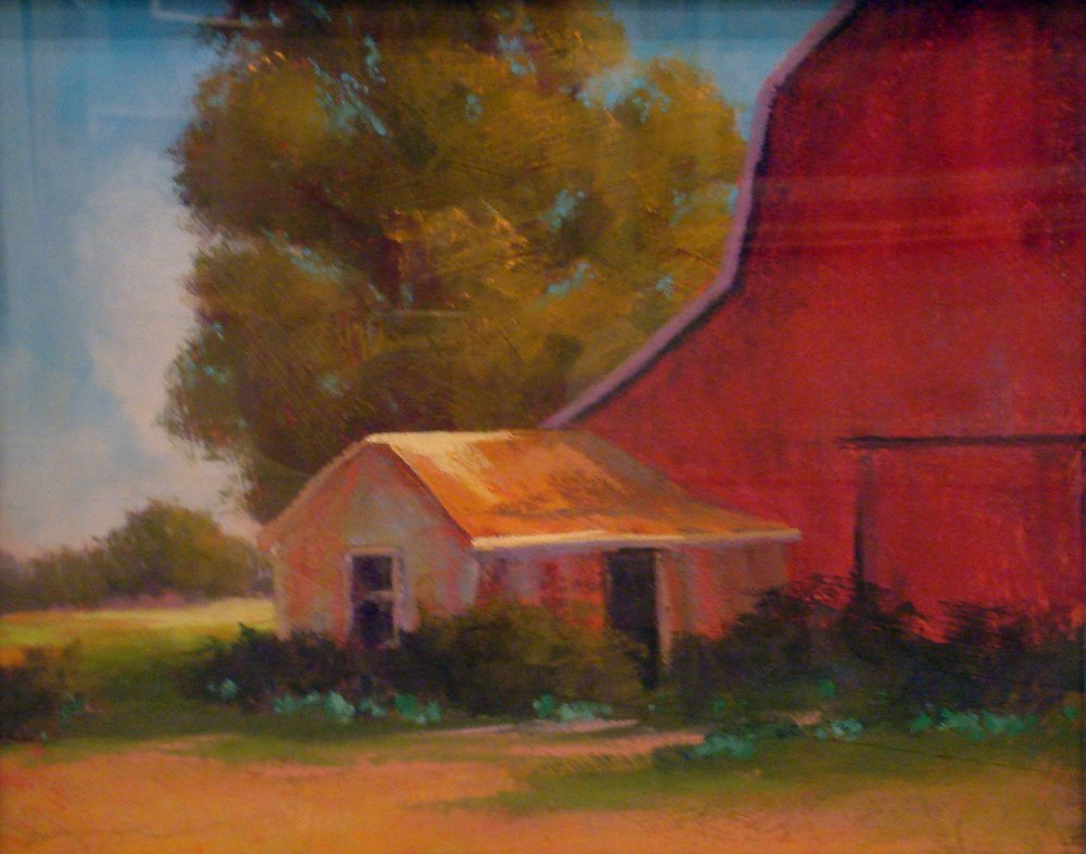 Back of the Barn, 16x20