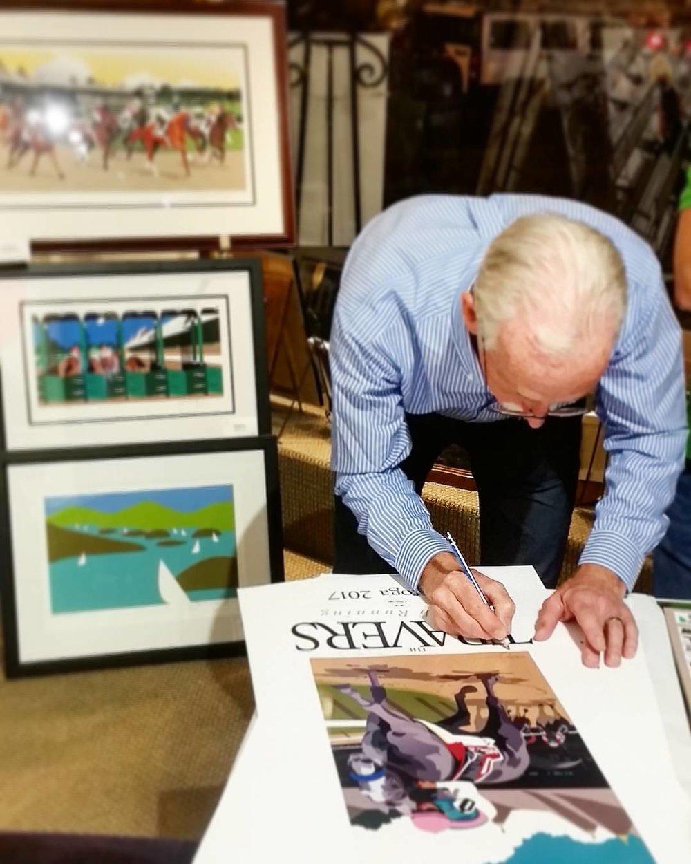 Greg Montgomery Signing, 2017