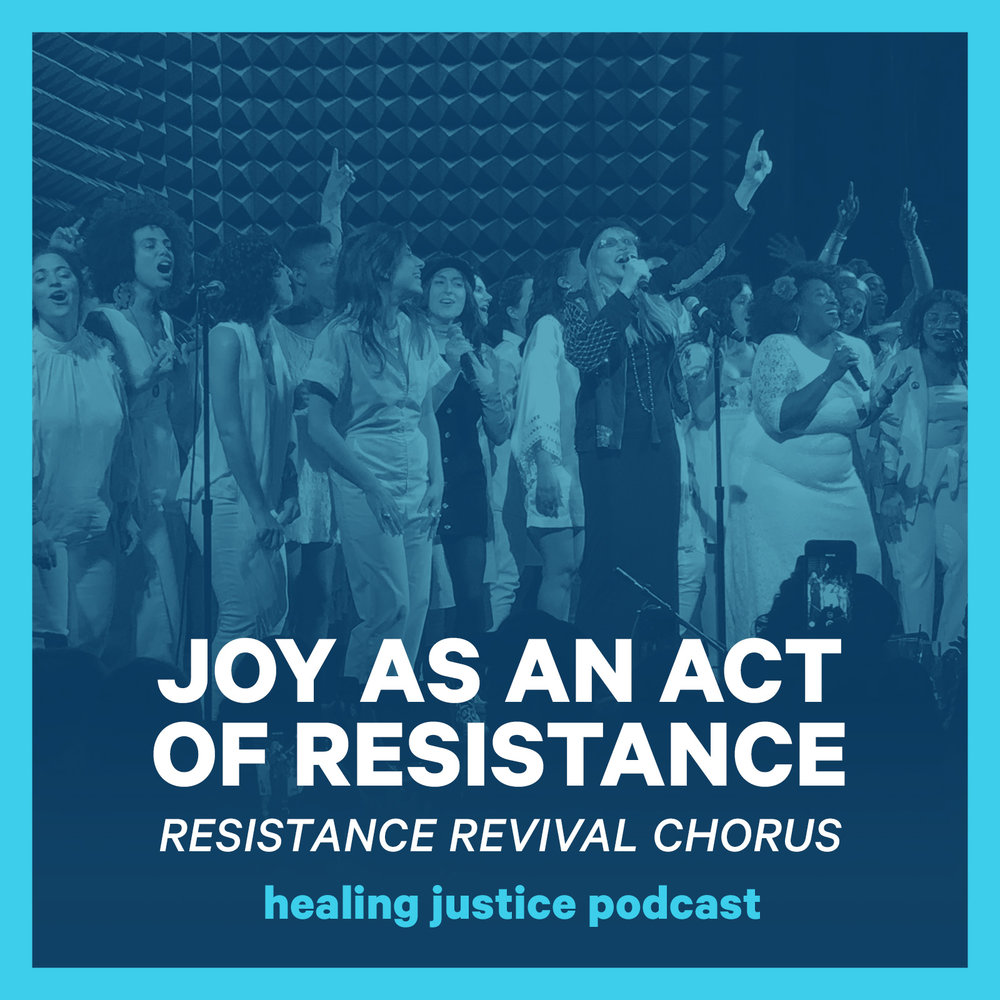 - In episode 30, we're talking with Resistance Revival Chorus members Meah Pace and Sarah Sophie Flicker. You'll hear their performances of protest songs new and old, as well as their thoughts on song and sisterhood,  intersectionality, singing at the Grammy's with Kesha for #TimesUp & the #MeToo movement, parenthood, and self care. Download the corresponding practice (30 Practice: Sing for Freedom) to join Resistance Revival Chorus Musical Director Abena Koomson Davis in a meditative singing and listening practice you can do alone or in a group. Get ready to hear her beautiful voice and join in!Practice episodes always publish on Thursdays.