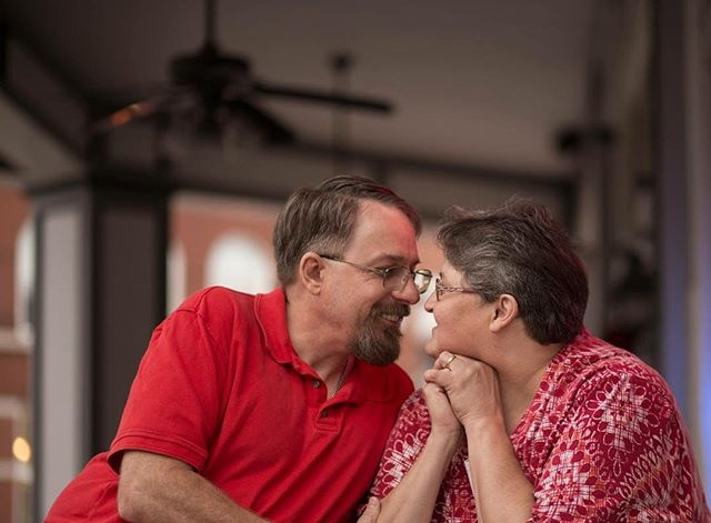 Let me tell you about these two; my mother and father in law... These two caring and wonderful people are the ones that are responsible for the sweet and endearing dork I get to call my husband. They have been together forever; through good times and bad, but yet they show each other the utmost respect and demonstrate true love. They are some serious relationship goals for real y'all.  Tracy and Rita; thank you. Not only for your son but all the kindness and love you always give to us.  #spartaillinois #redbud #illinoisphotographer #southernilphotographer #appelstudios