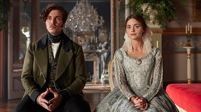 Who's been enjoying the new @victoriaseries on @itv? We love @jenna_coleman_! Almost as much as we loved singing and creating the theme tune alongside the genius Martin Phipps. Tag us if you hear us. 9PM ITV 🖤