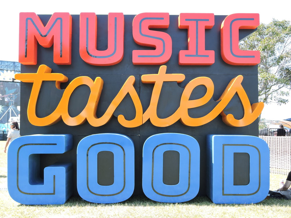 Music Tastes Good Art Installation. (Photo by Sophie Pay)