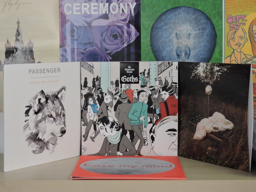 My Top Ten Albums and EPs of 2017 - December 30, 2017