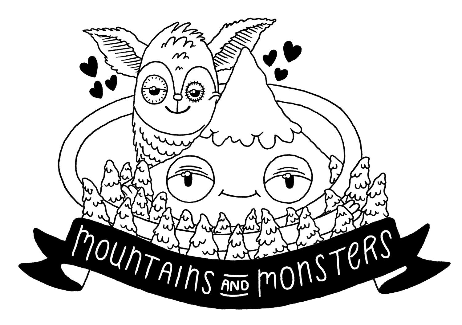 MOUNTAINS AND MONSTERS