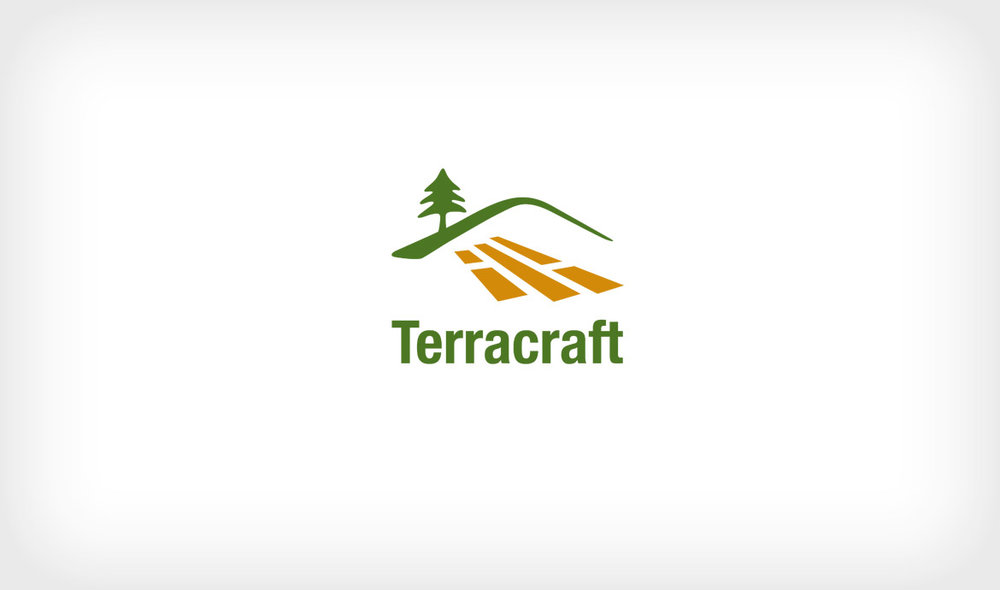 Logo for Terracraft, a landscape design company in Whistler, British Columbia.