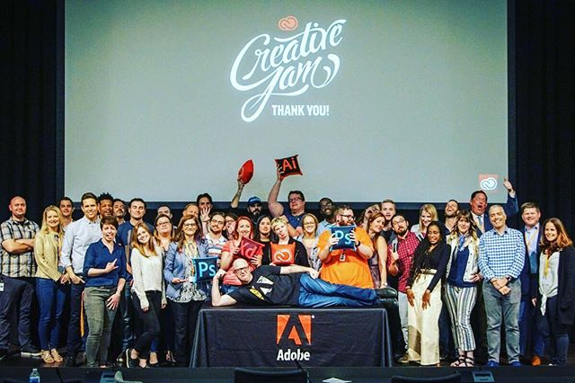 #Adobe #CreativeJam was so awesome. I hope to be able to participate next year! #onehomedepot