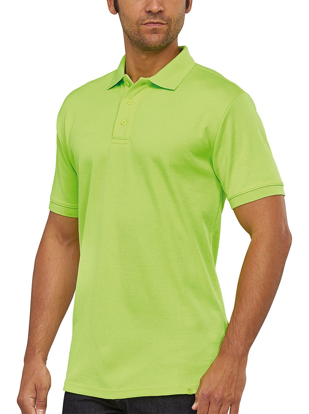 FLASH POWERDRY POLO MACGREEN FLUORESCENT