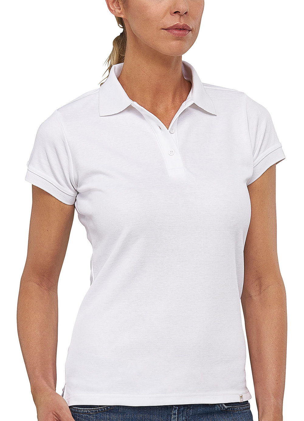FLASH POWERDRY POLO SHIRT FEMALE MACWHITE