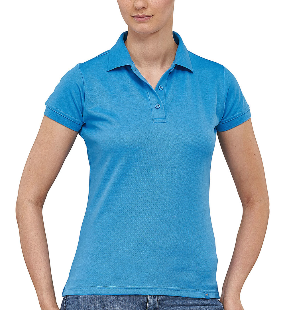 FLASH POWERDRY POLO SHIRT FEMALE FLASHLIGHTBLUE
