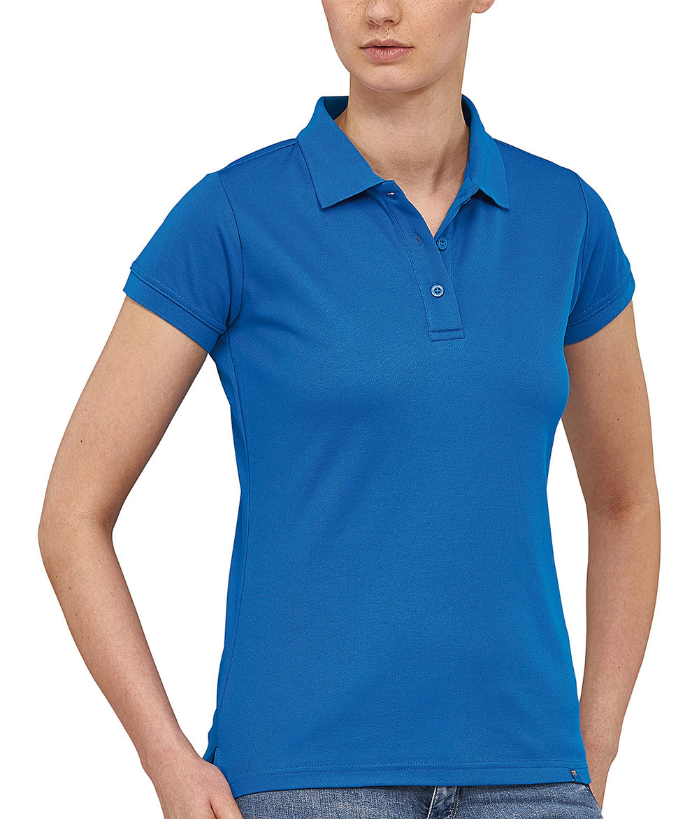FLASH POWERDRY POLO SHIRT FEMALE ROYAL BLUE