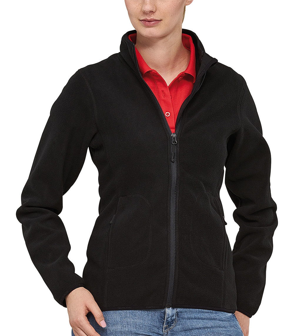 SOFT PROTECH3000BA BONDED MICRO FLEECE FEMALE MACBLACK