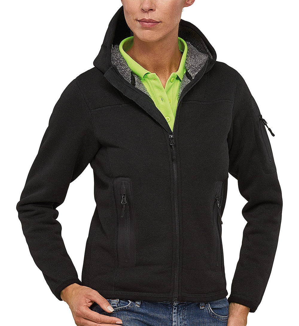 RIPTIDE PROTECH3000BA BONDED TEDDY FLEECE FEMALE MACBLACK