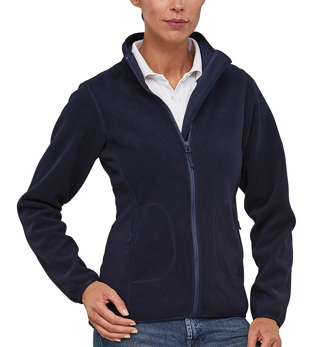 SOFT PROTECH3000BA BONDED MICRO FLEECE FEMALE MACBLUE