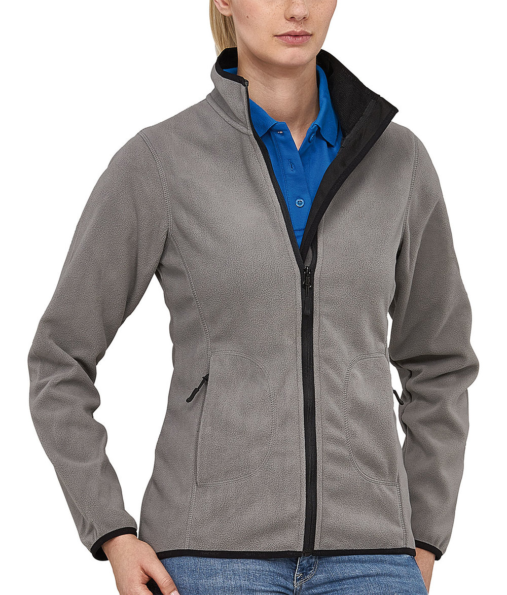 SOFT PROTECH3000BA BONDED MICRO FLEECE FEMALE FLASHSTONEGREY