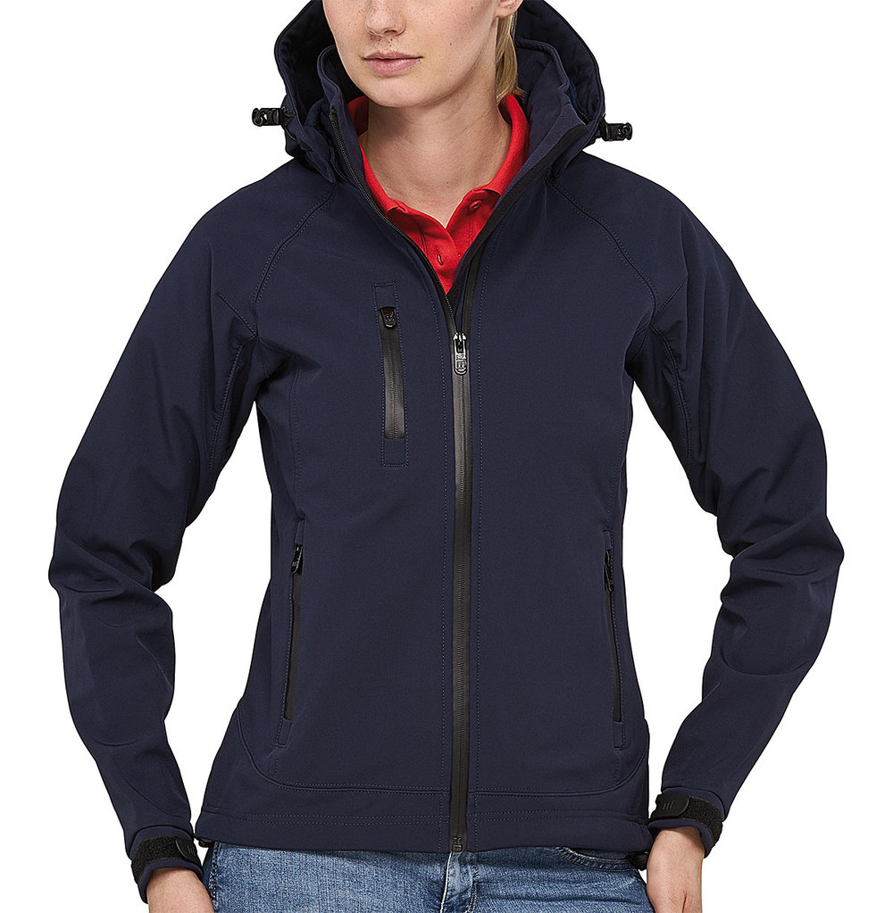SAFARI PROTECH8000/5000 TECH SOFT SHELL JACKET FEMALE MACBLUE