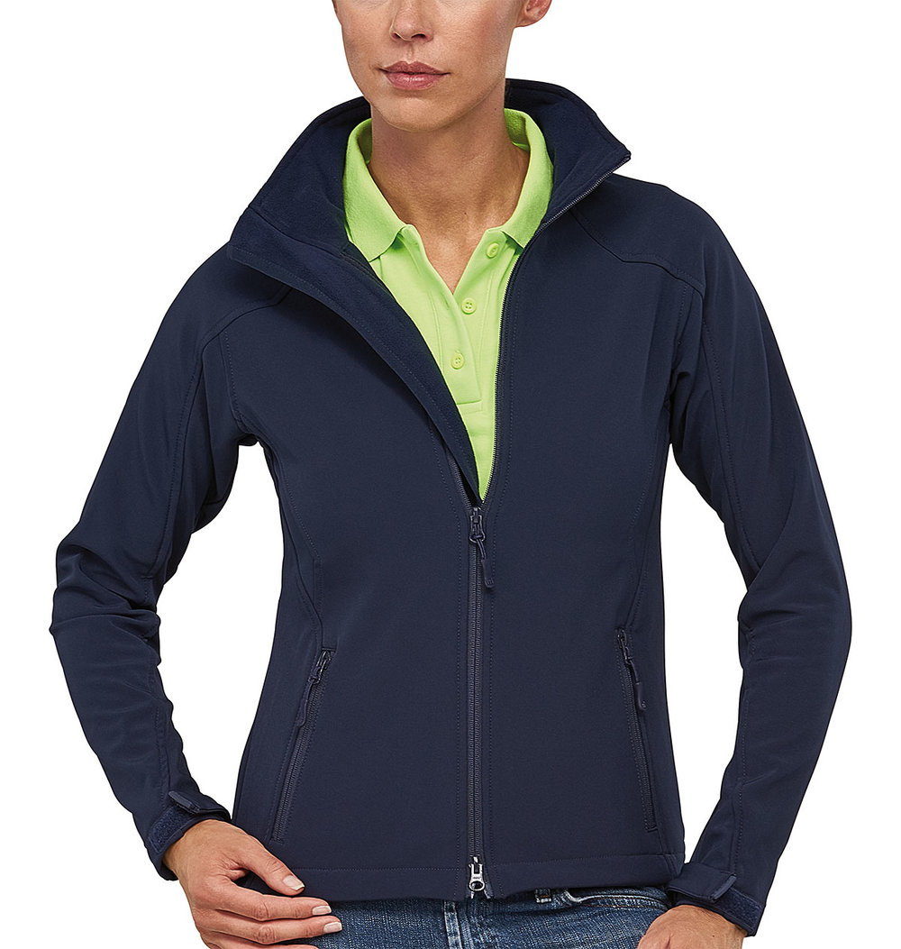 TREK PROTECH5000BA LIGHT SOFT SHELL JACKET FEMALE MACBLUE