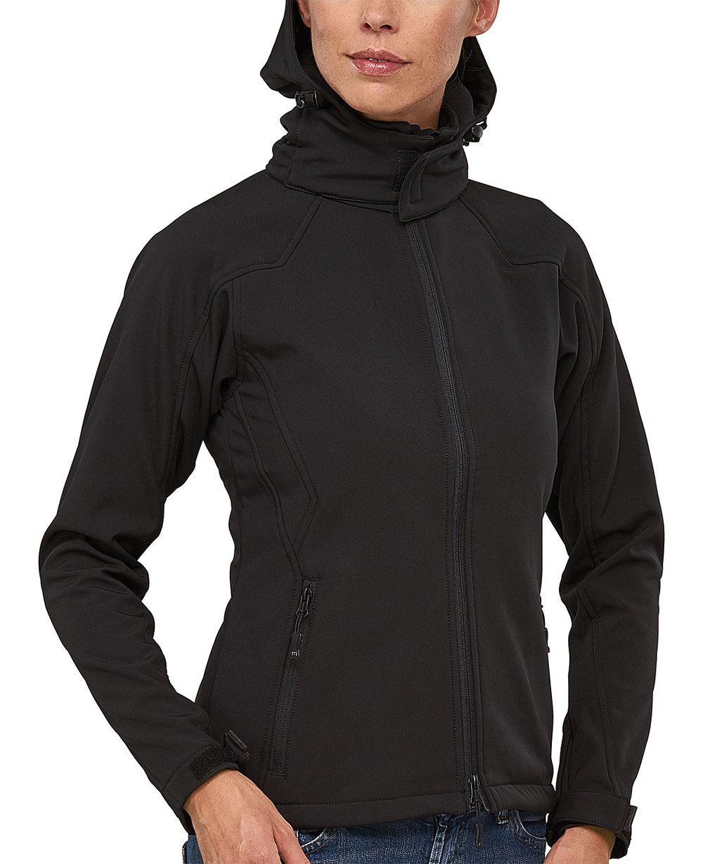 TREK CAP PROTECH5000BA LIGHT SOFT SHELL JACKET FEMALE MACBLACK