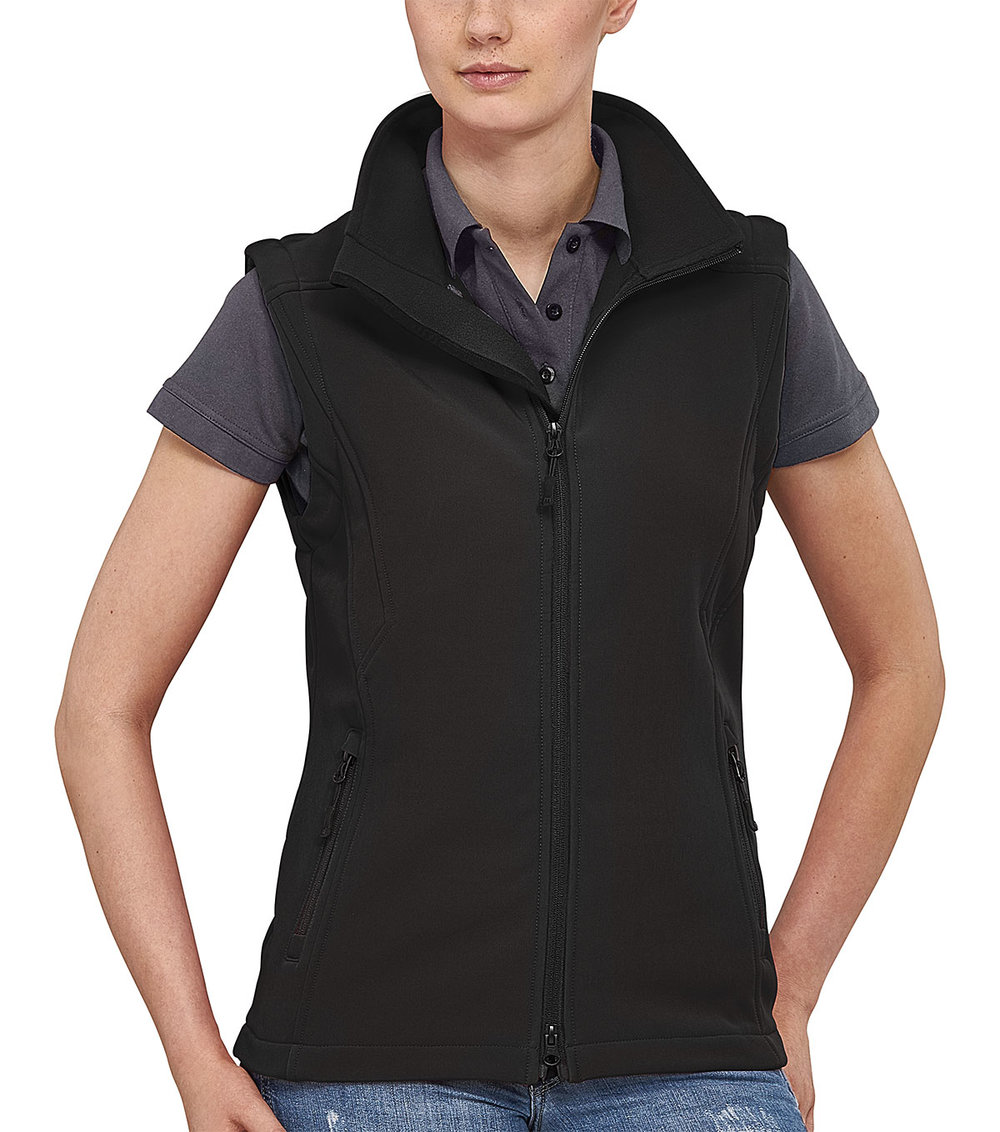 TREK VEST PROTECH5000BA LIGHT SOFT SHELL FEMALE MACBLACK