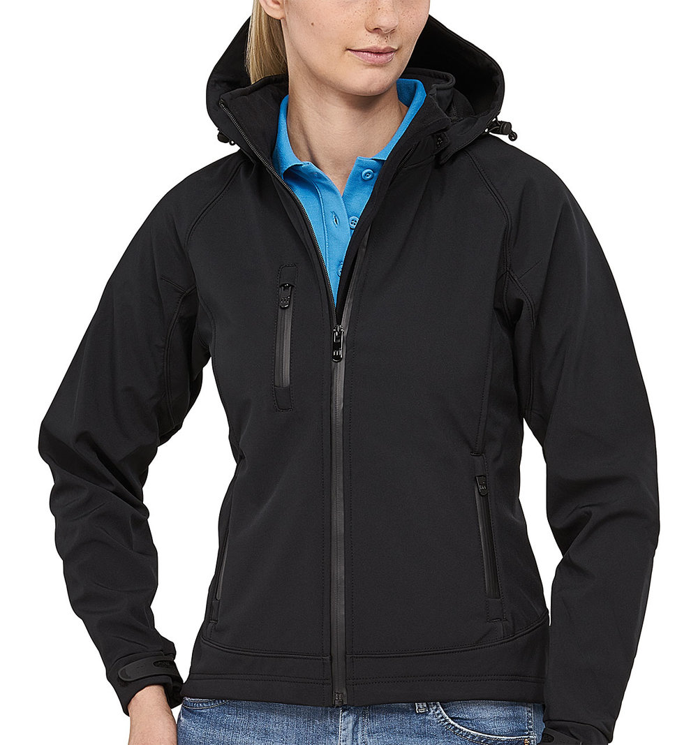 SAFARI PROTECH8000/5000 TECH SOFT SHELL JACKET FEMALE MACBLACK