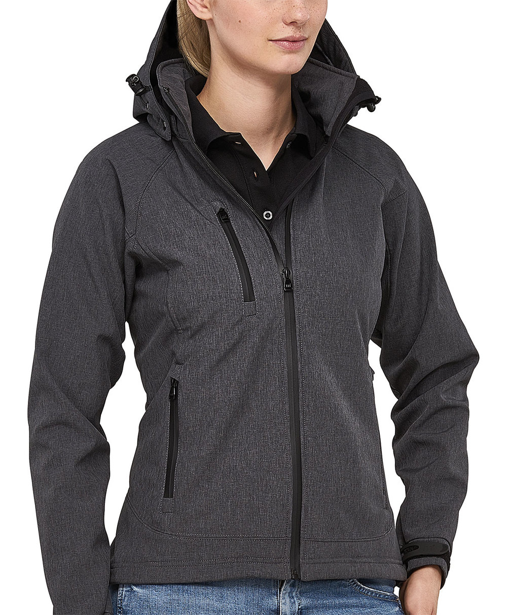 SAFARI PROTECH8000/5000 TECH SOFT SHELL JACKET FEMALE MELANGE
