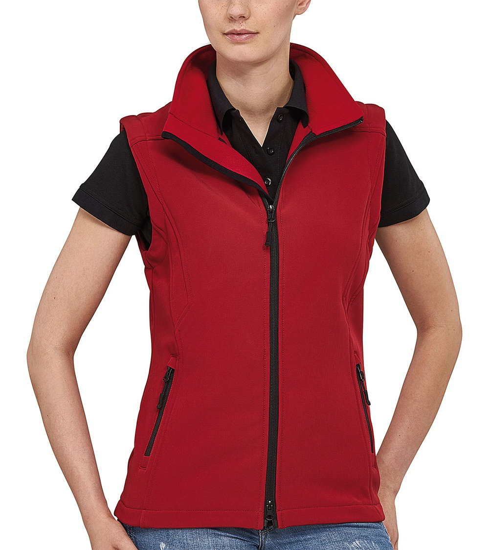 TREK VEST PROTECH5000BA LIGHT SOFT SHELL FEMALE MACRED