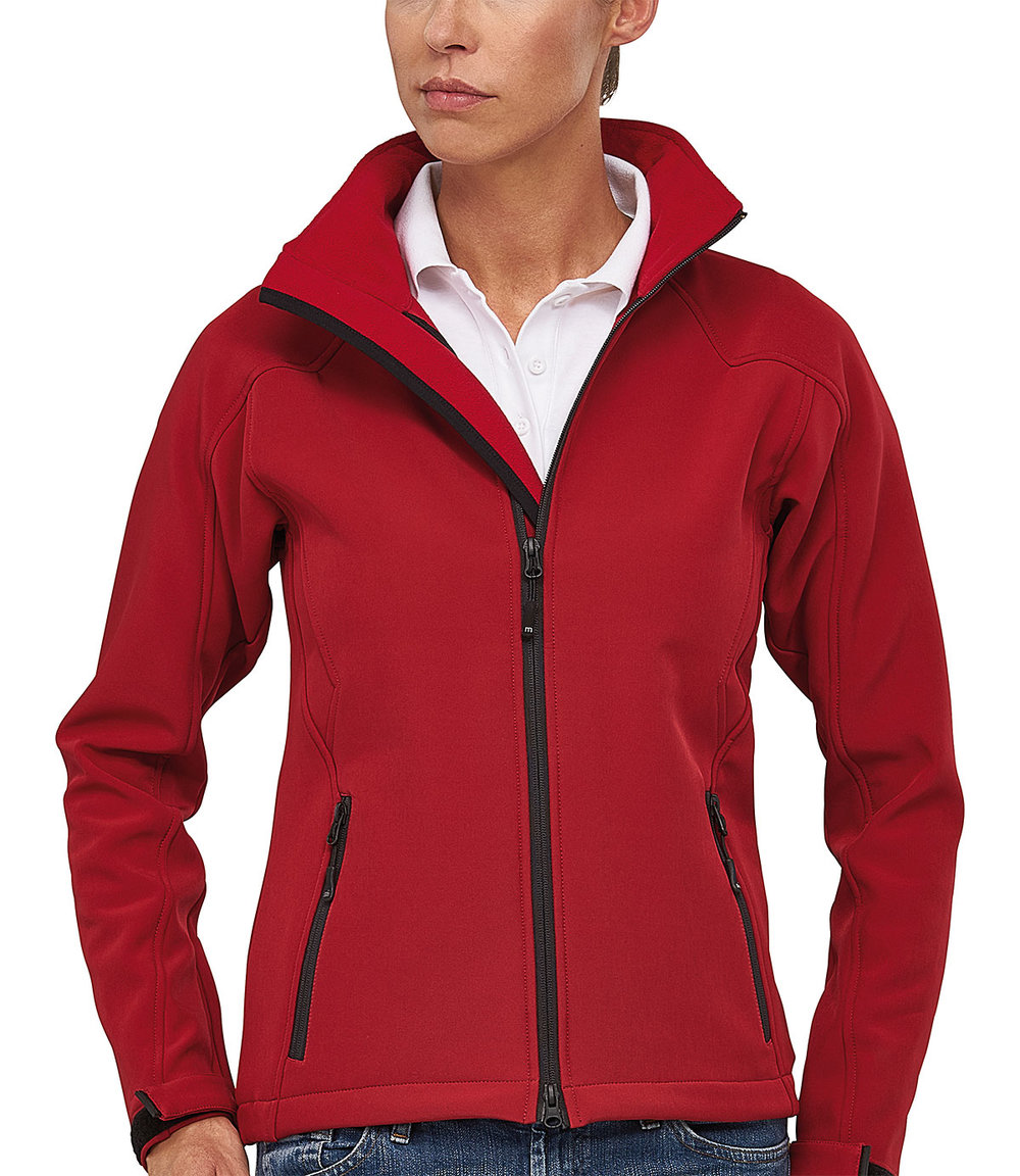 TREK PROTECH5000BA LIGHT SOFT SHELL JACKET FEMALE MACRED