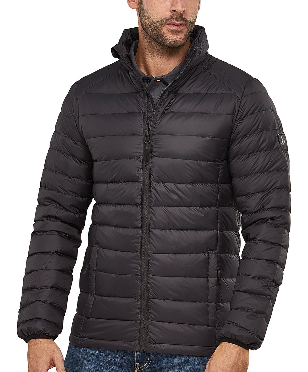 "JET 90/10 DOWNTECH ""STITCH-THROUGH"" JACKET MALE MACBLACK"