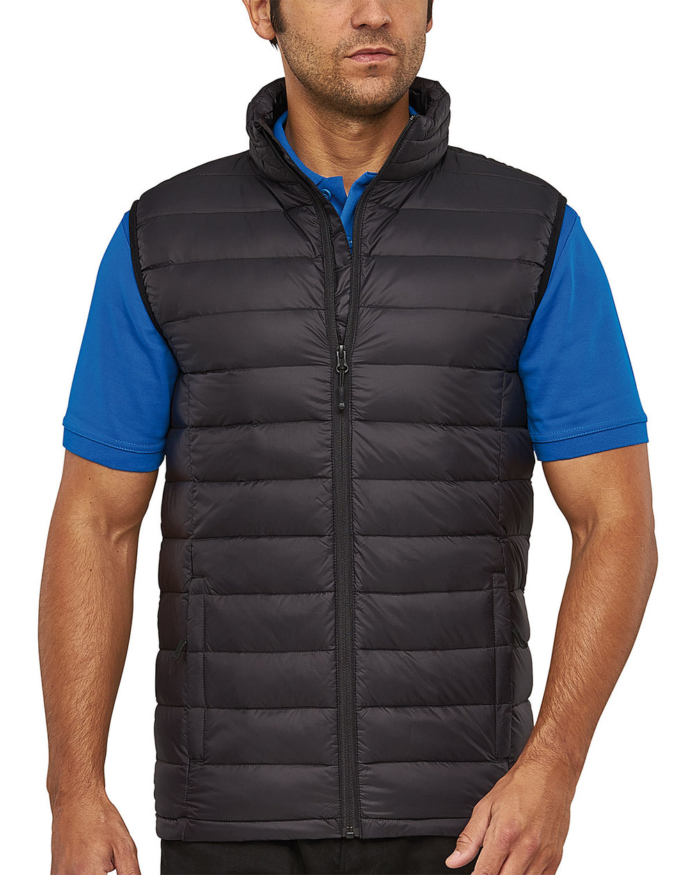SKY DOWNTECH VEST MALE MACBLACK