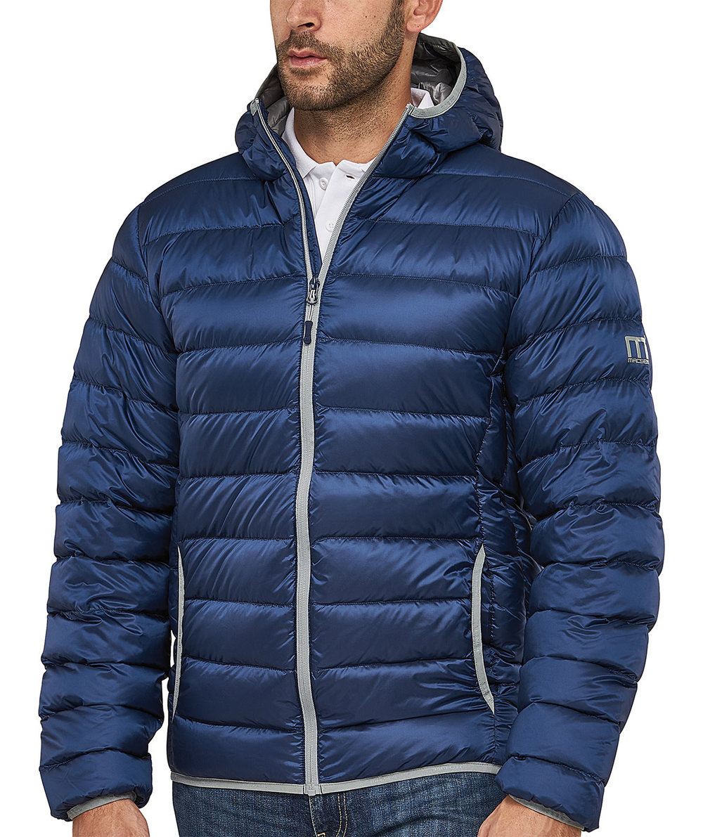 PREDATOR DOWNTECH JACKET MALE MACBLUE/SILVER TRIM