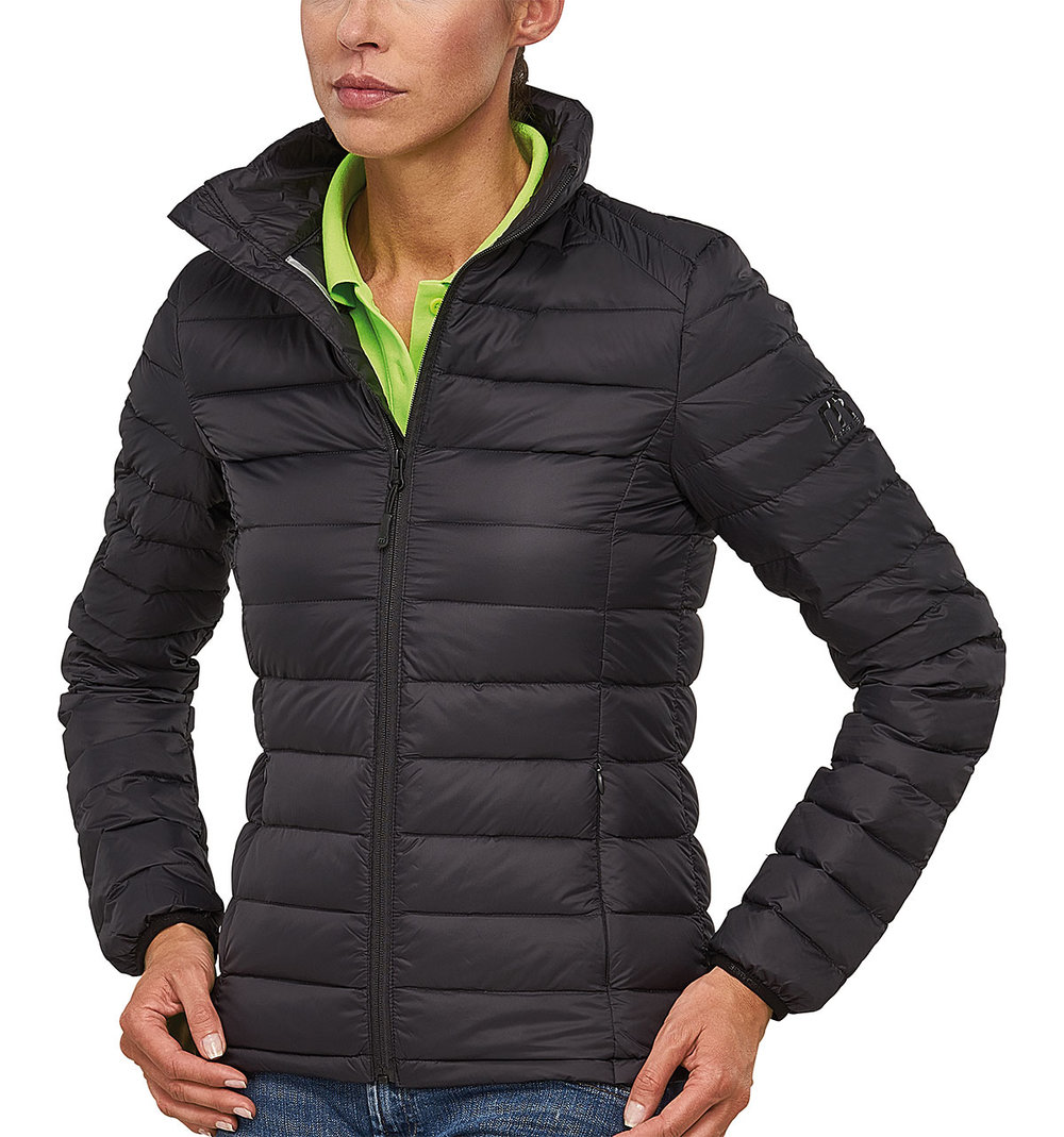"JET 90/10 DOWNTECH ""STITCH-THROUGH"" JACKET FEMALE MACBLACK"