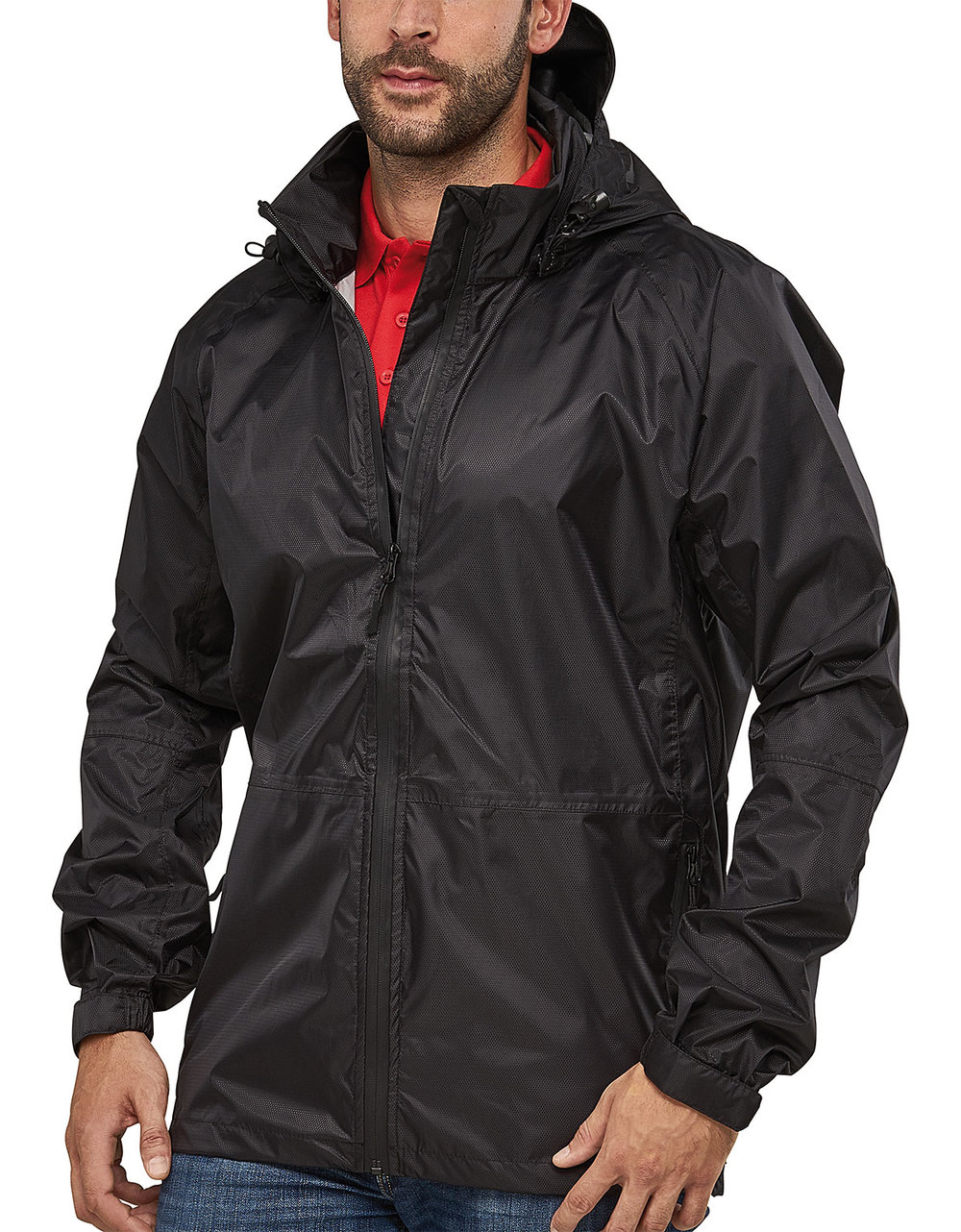 INFINITY RIBTECH5000/5000 SUPER LIGHT TECH RAIN JACKET MALE MACBLACK