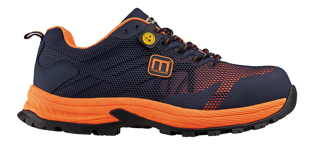 PRONEON TECHNICAL PROTECTION SHOES S1P ESD MACBLUE/MACORANGE FLUORESCENT