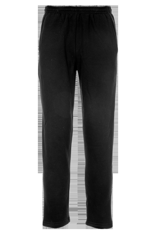 Baumwoll-Trainerhose lang