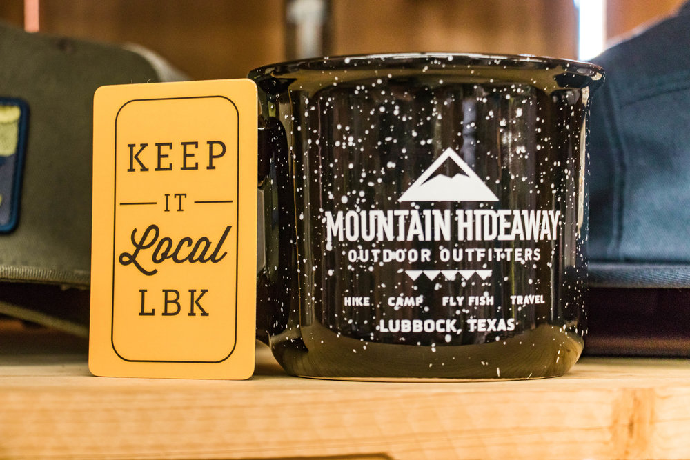 About Moutain Hideaway - Kyle and Misty Jones started Mountain Hideaway 25 years ago and have grown it into Lubbock's premier outdoor outfitter for hiking, camping, fly fishing, and outdoor travel!
