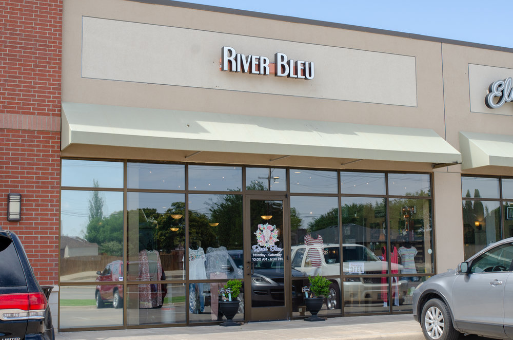 About River Bleu - After graduating from Texas Tech University with a Bachelor of Science in Retail Management, Gracie knew she should follow her dreams of owning her own boutique. River Bleu started out traveling around Texas and New Mexico taking part in trade shows. After building their reputation and spreading the word of River Bleu's spunk, they now River Bleu have a store front on 98th Street!
