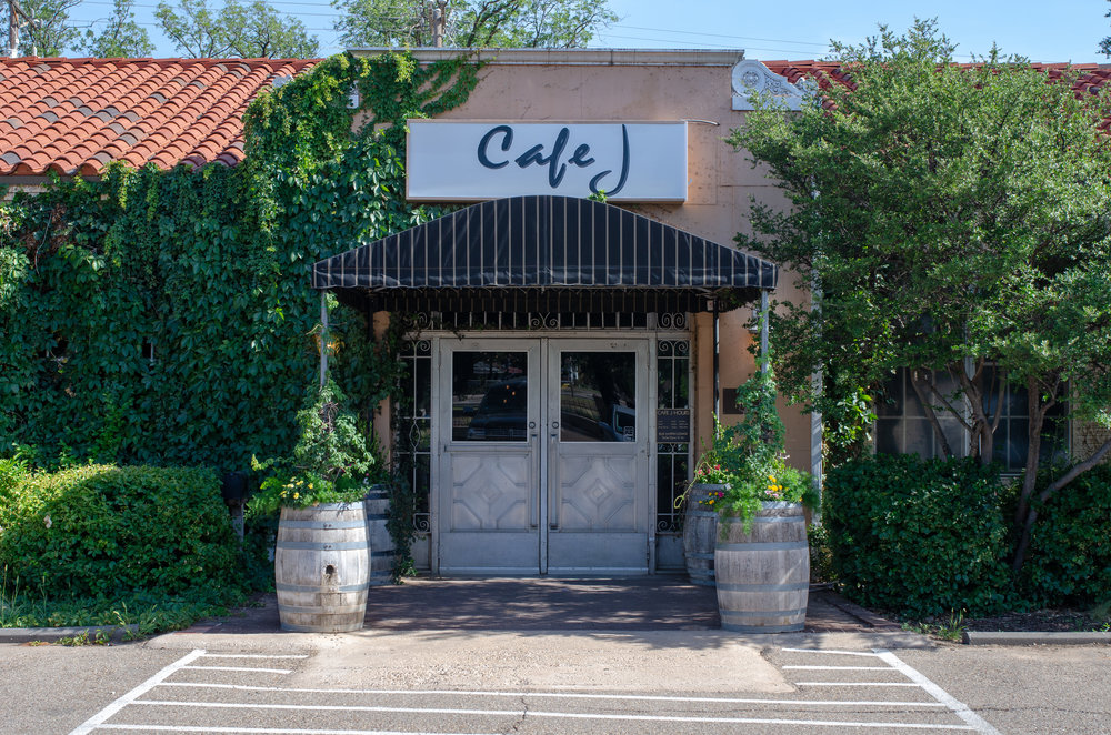 About Cafe J - Blending modern techniques with worldwide influences, an extensive wine selection, and original paintings, inspired cuisine meets impeccable hospitality and service.