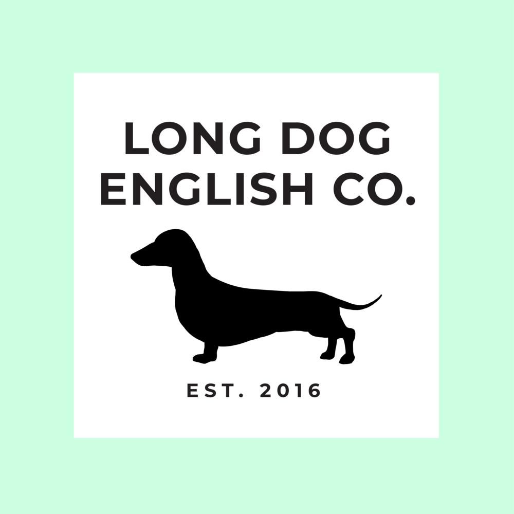 About Long Dog English Co. - Since 2016, Long Dog English Co has been providing quality attention to clients' English needs through editing, tutoring, and coaching. We believe that all aspects of language can be improved upon: speaking, reading, and writing.