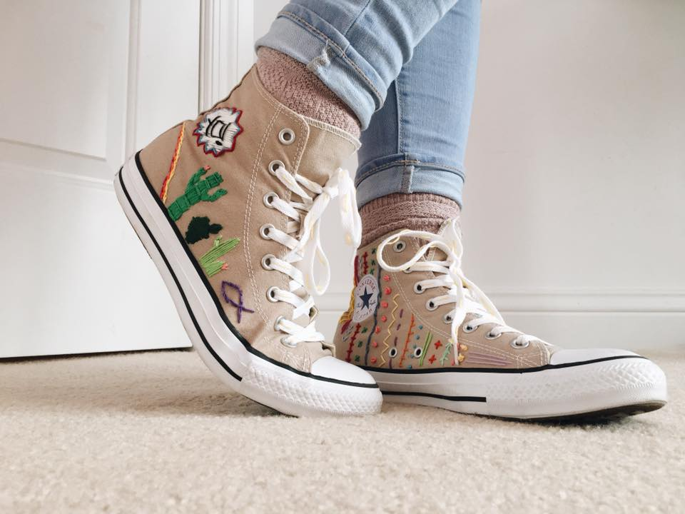converse embroidery
