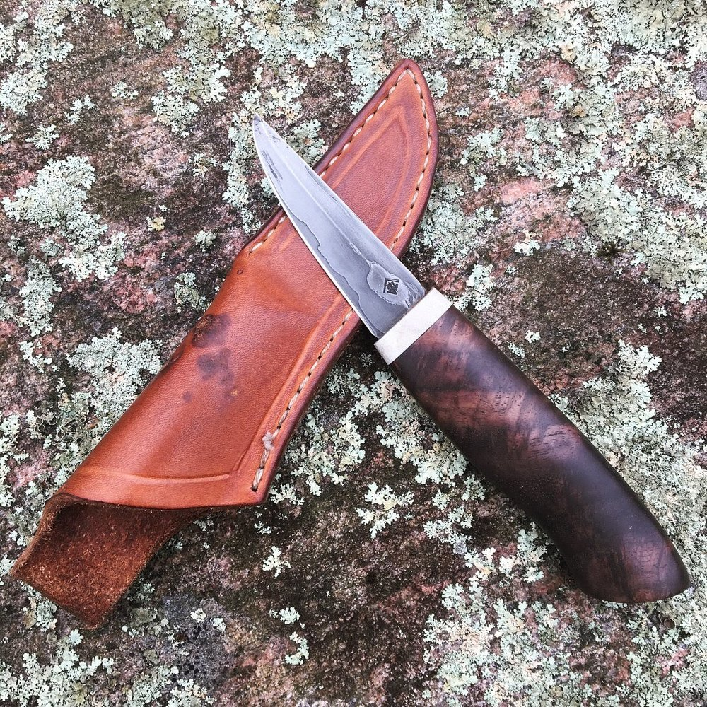 Wrought iron go mai little scandi carver