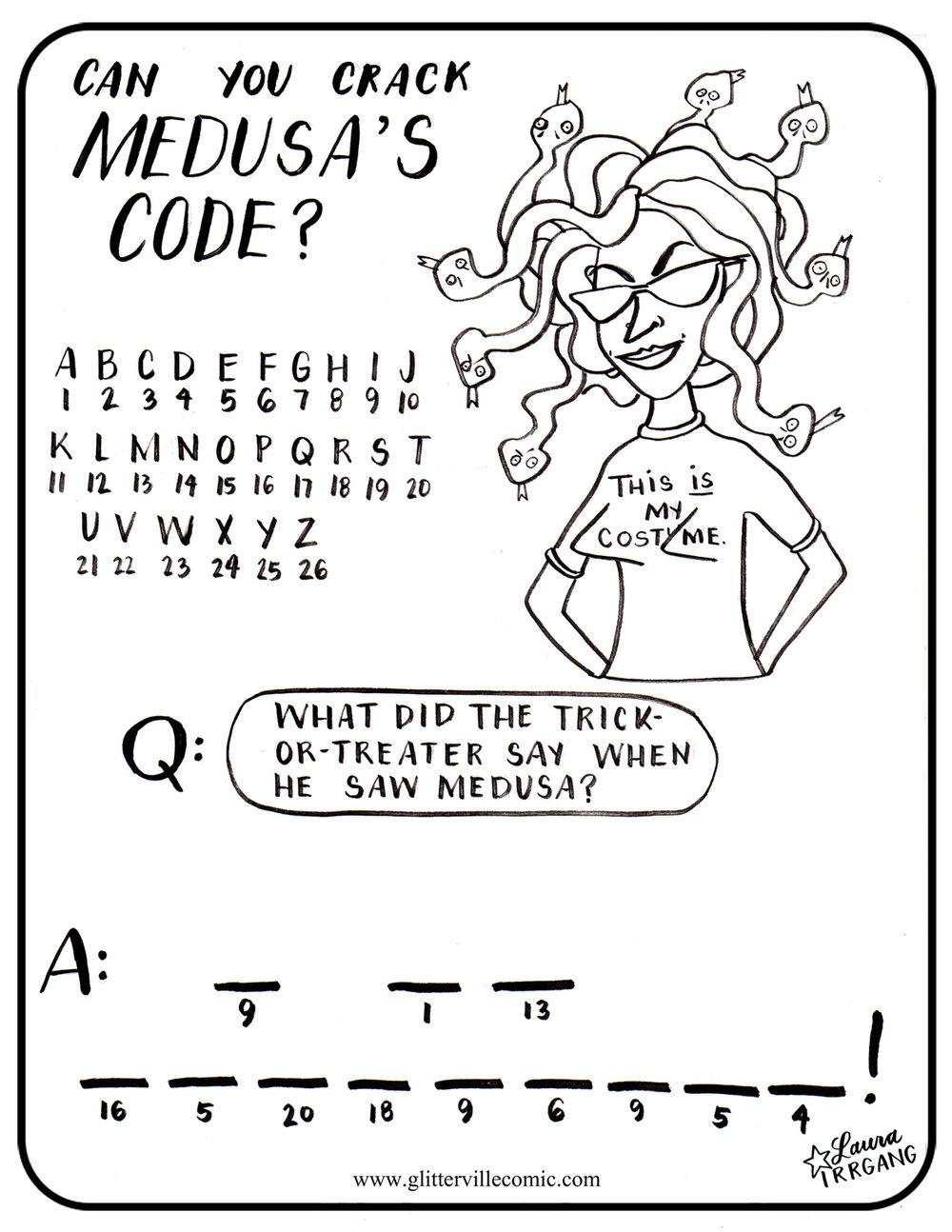 Medusa's Code black and white.jpg