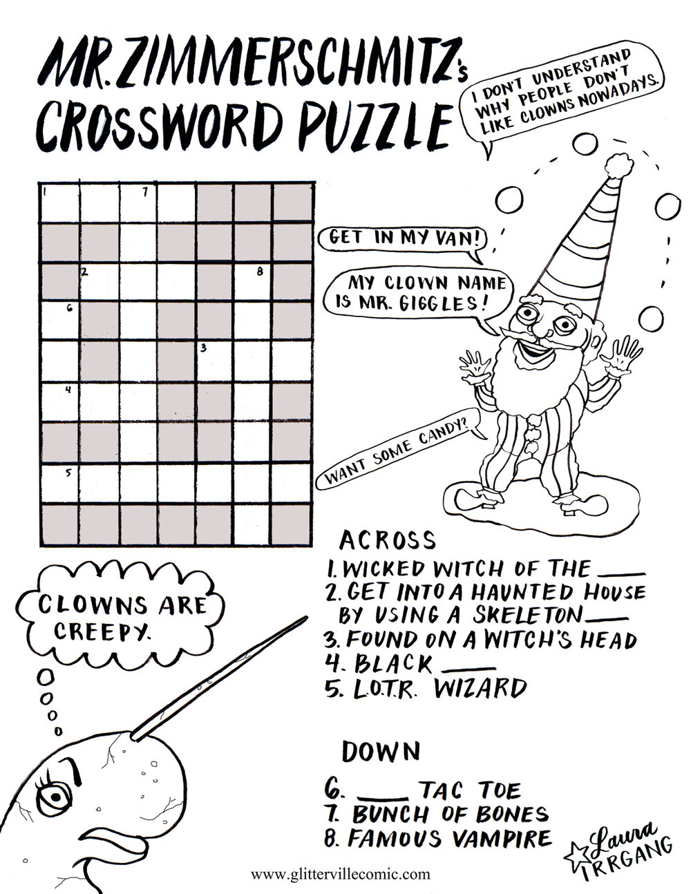 Mr Z Crossword black and white.jpg