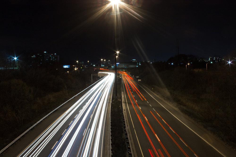Rush hour - long exposure