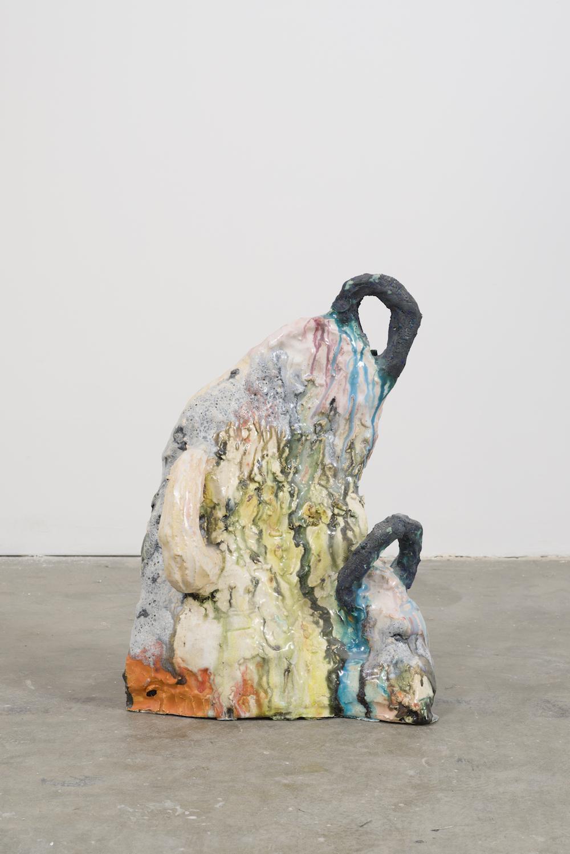 Untitled (Comb), 2017 ceramic 21-1/2 x 14 x 5 inches