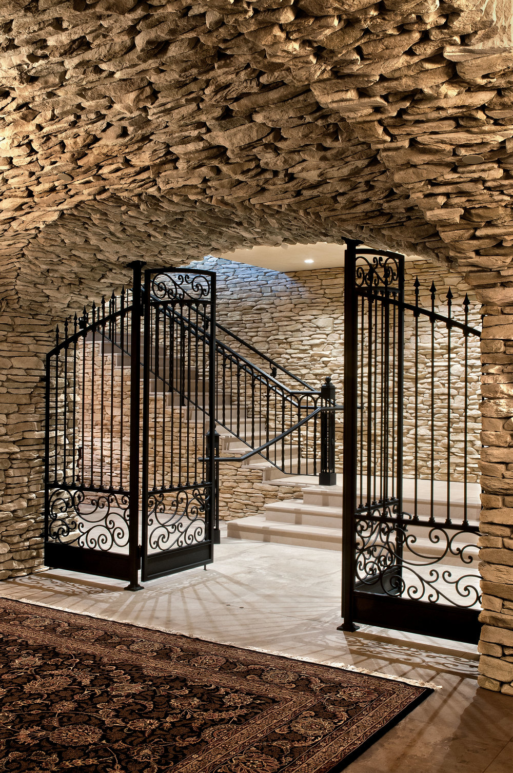 Domaine Serene: Wine Cellar