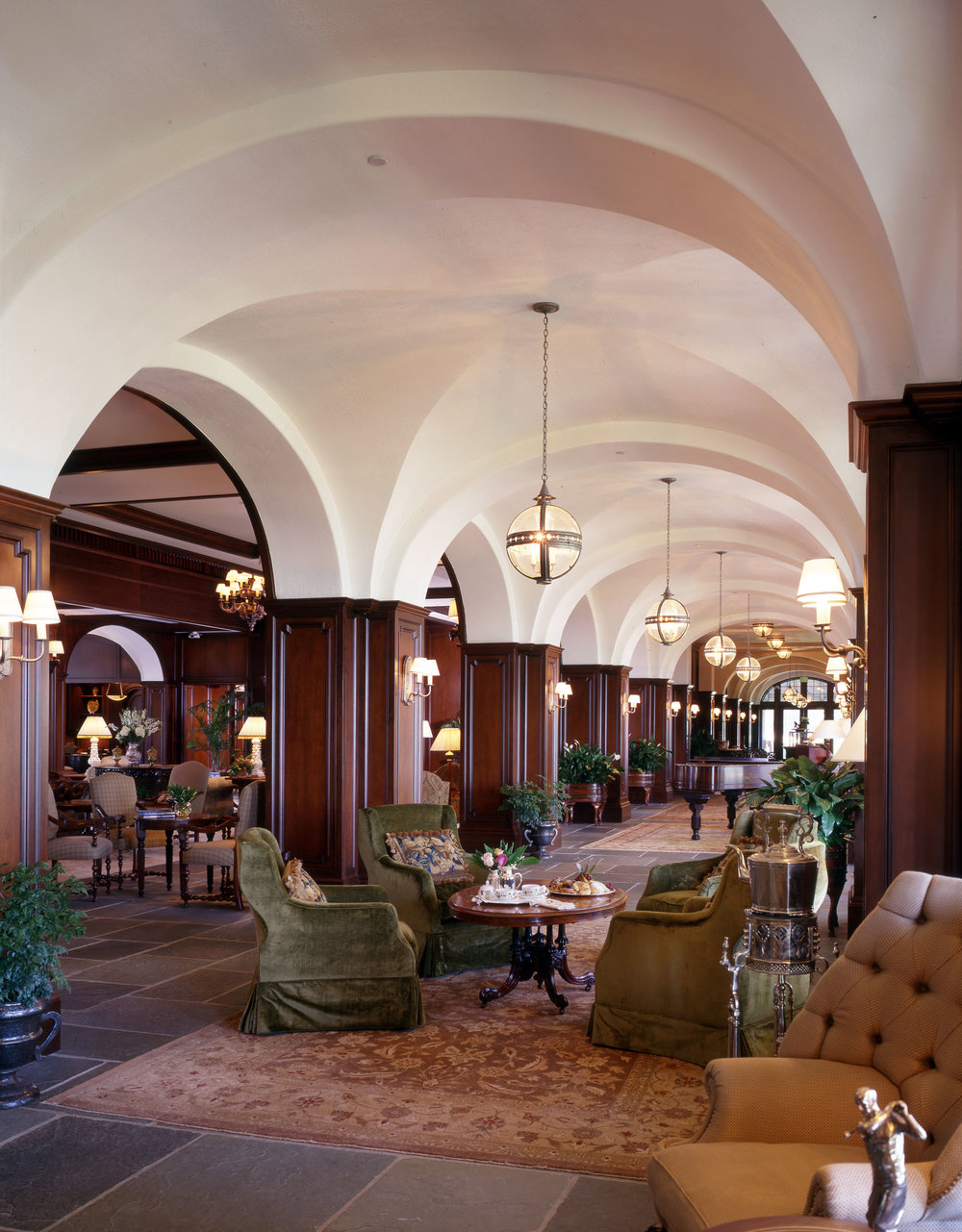 Lodge at Sea Island: Lobby