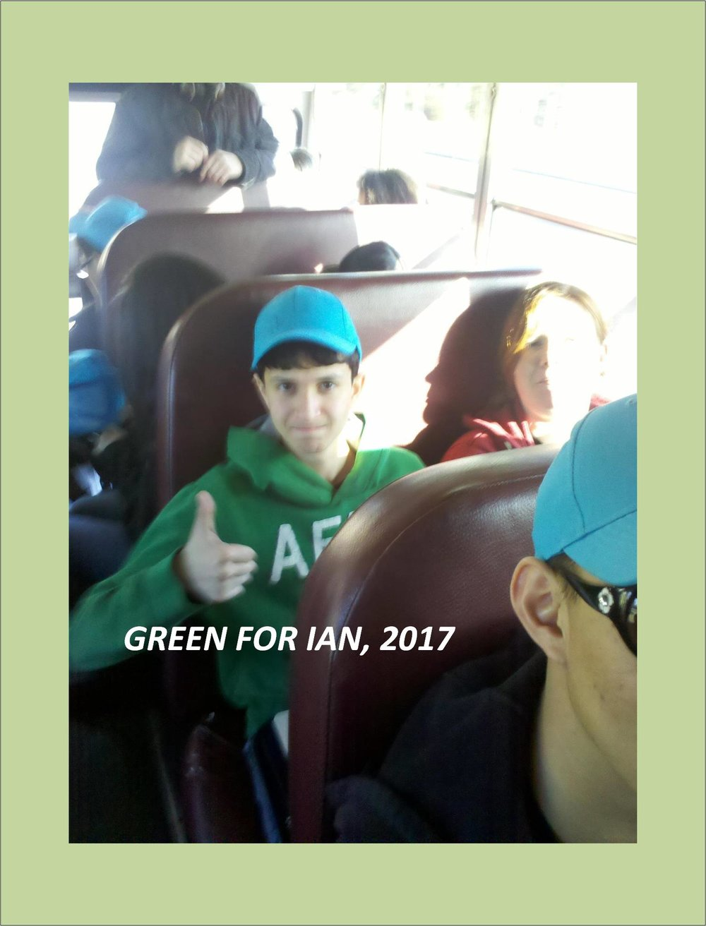 CLICK FOR GREEN FOR IAN, 2017                     PICTURES